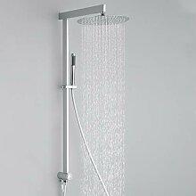 Homelody eckig Duschsystem ohne Armatur mit