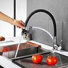 homelody Küchenarmatur Schlauch aus weichem