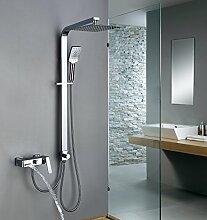 Homelody Trennbar Duschsystem mit Messing