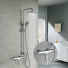 Homelody Trennbar Duschsystem Thermostat