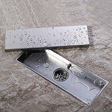 Homelody Unsichtbar Bodenablauf 300 * 110mm