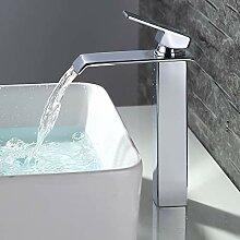 Homelody Wasserfall Wasserhahn Bad hoch Badarmatur