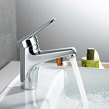 Homelody Wasserhahn Bad Chrom Waschbecken