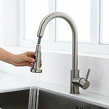 Homelody Wasserhahn Küche ausziehbar Armatur mit