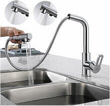 Homelody - Wasserhahn Küche Ausziehbar,