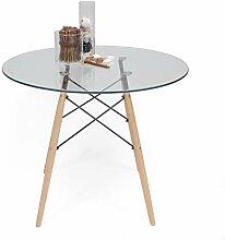 Homely Küchentisch/Esstisch rund Tower Vintage