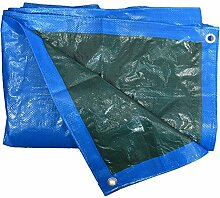 Homemaison Abdeckplane Wasserdicht mit Ösen PVC