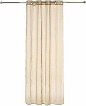 Homemaison Vorhang Nadelstreifen gewebt,