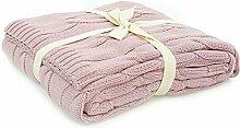 Homemania Sofadecke rosa 130 x 170 cm