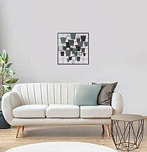 Homemania Wanddekoration, Metall, Glas, mehrfarbig