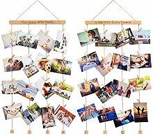 Homemaxs Family Bilderrahmen Fotowand,