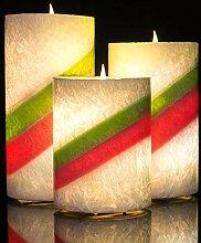 Homemory batteriebetriebene flammenlose Kerze mit