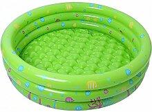 Homeng Aufblasbarer runder Schwimmbecken für