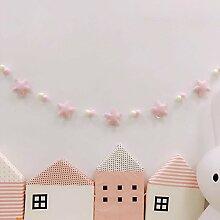 Homeofying Nordic Style Pom Pom Kugeln Sterne