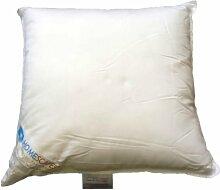 Homescapes Füllkissen 80 x 80 cm weiß, Innenkissen mit Super Microfaser Füllung, Inlett 100% Microfaser