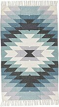 Homescapes handgewobener Kelim Teppich mit