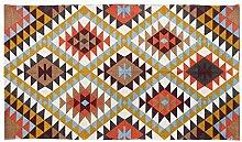 Homescapes handgewobener Teppich mit Buntem,