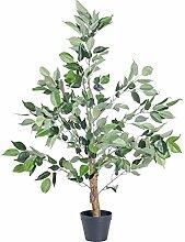 Homescapes künstlicher Ficus Benjamini Baum grün