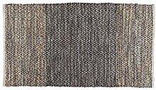 Homescapes Recycelt Leder Handgewebter Teppich mit
