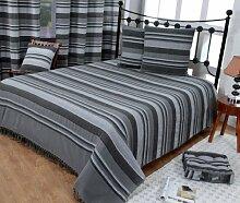 Homescapes waschbare Tagesdecke Sofaüberwurf