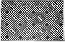 Homescapes wetterfester Teppich mit geometrischem