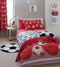 Homespace Direct Bettwäsche-Set Fußball-Design,