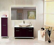 Homespiegel mit LED Beleuchtung - Aidane HRL74P - , B/H: 190x100 cm