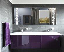 Homespiegel mit LED Beleuchtung - Alean HL034B - , B/H: 80x60 cm