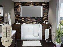 Homespiegel mit LED Beleuchtung - Badspiegel mit Fernbedienung - Mouge HL011B - , B/H: 100x50 cm