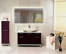 Homespiegel mit LED Beleuchtung - Beiko HRL87P - , B/H: 110x90 cm