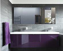 Homespiegel mit LED Beleuchtung - Ecrin HL039B - , B/H: 90x40 cm