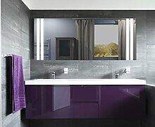 Homespiegel mit LED Beleuchtung - Gilie HL033B - , B/H: 140x80 cm