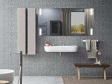 Homespiegel mit LED Beleuchtung - Guerbe HL027B - , B/H: 90x50 cm