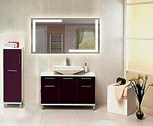 Homespiegel mit LED Beleuchtung - Irsensor unten mittig - Cance HRL66P - , B/H: 100x60 cm