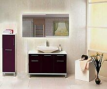 Homespiegel mit LED Beleuchtung - Kimone HRL70P - , B/H: 60x50 cm