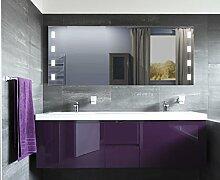 Homespiegel mit LED Beleuchtung - Muska HL015B - , B/H: 150x60 cm
