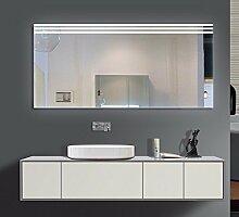 Homespiegel mit LED Beleuchtung - Ragge O3LXA - , B/H: 120x70 cm