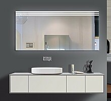 Homespiegel mit LED Beleuchtung - Ragge O3LXA - , B/H: 150x80 cm