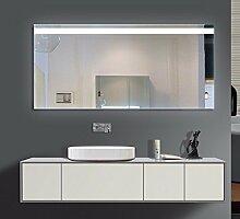 Homespiegel mit LED Beleuchtung - Summe O1LFA - , B/H: 50x40 cm