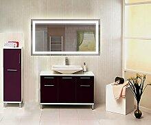 Homespiegel mit LED Beleuchtung - Tuana HRL93P - , B/H: 80x100 cm