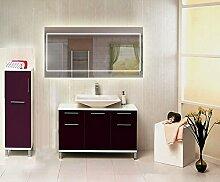Homespiegel mit LED Beleuchtung - Udgee HRL67P - , B/H: 140x80 cm