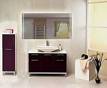 Homespiegel mit LED Beleuchtung - Usaka HRL75P - , B/H: 190x100 cm