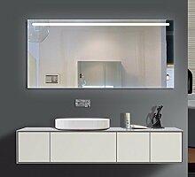 Homespiegel mit LED Beleuchtung - Woe O1LOA - , B/H: 80x100 cm