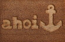 Homestyle & more Kokos-Fußmatte AHOI Anker