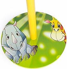 Homestyle4u 1128 Kindergarderobe Dschungel Tiere ,