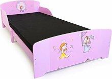 Homestyle4u 1213, Kinderbett Motiv Prinzessin Fee,