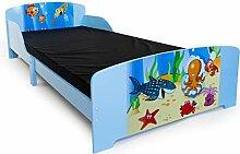 Homestyle4u 1215, Kinderbett 90x200 cm, Spielbett