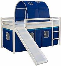 Homestyle4u 1568, Kinderbett 90x200 Weiß,