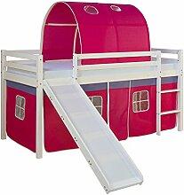 Homestyle4u 1569, Kinderbett 90x200 Weiß,