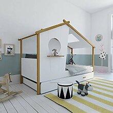 Homestyle4u 1950, Kinderbett Mit Lattenrost,